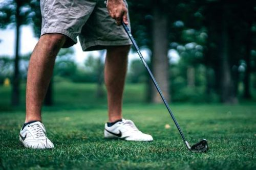 Stabiliser ses appuis au golf